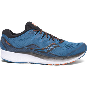 saucony Ride ISO 2 Schoenen Heren, black/blue